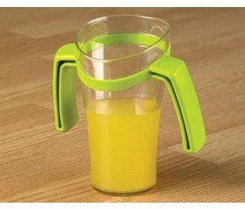 Pente nez tasse avec deux poignées