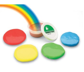 North Coast Medical Rainbow putty soft