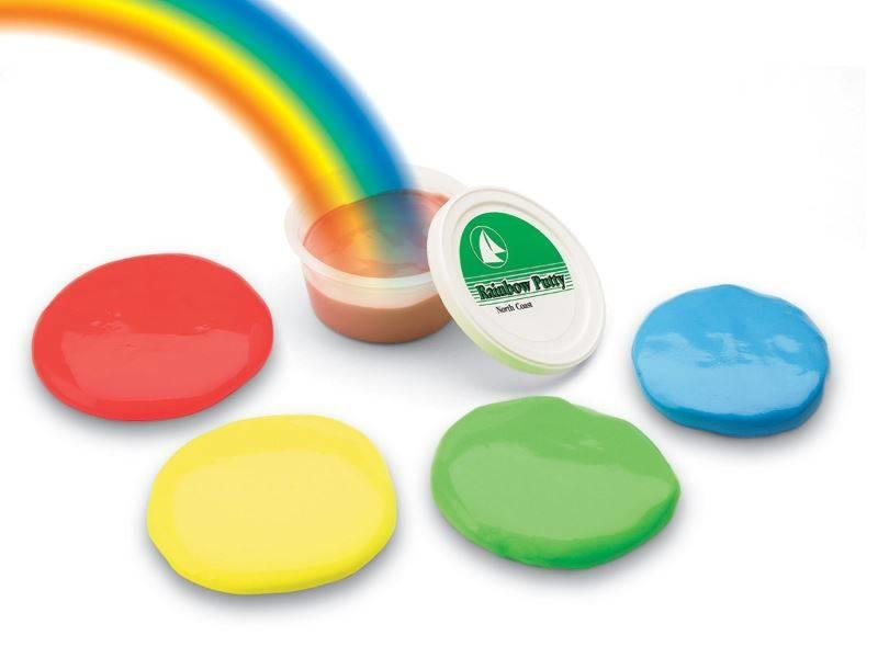 North Coast Medical Rainbow putty soft 85 gram