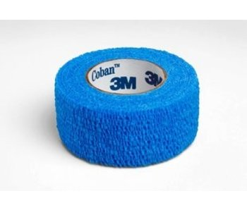 Coban Blue 1 in x 5yd (30 rolls)