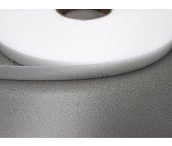 Velor loop tape White 16 mm.