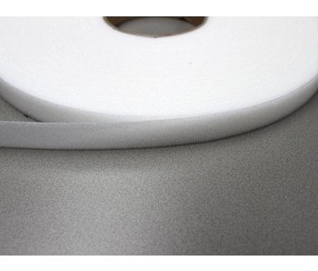 Velours- Klettband Weiß