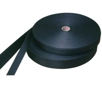 Webbing band zwart