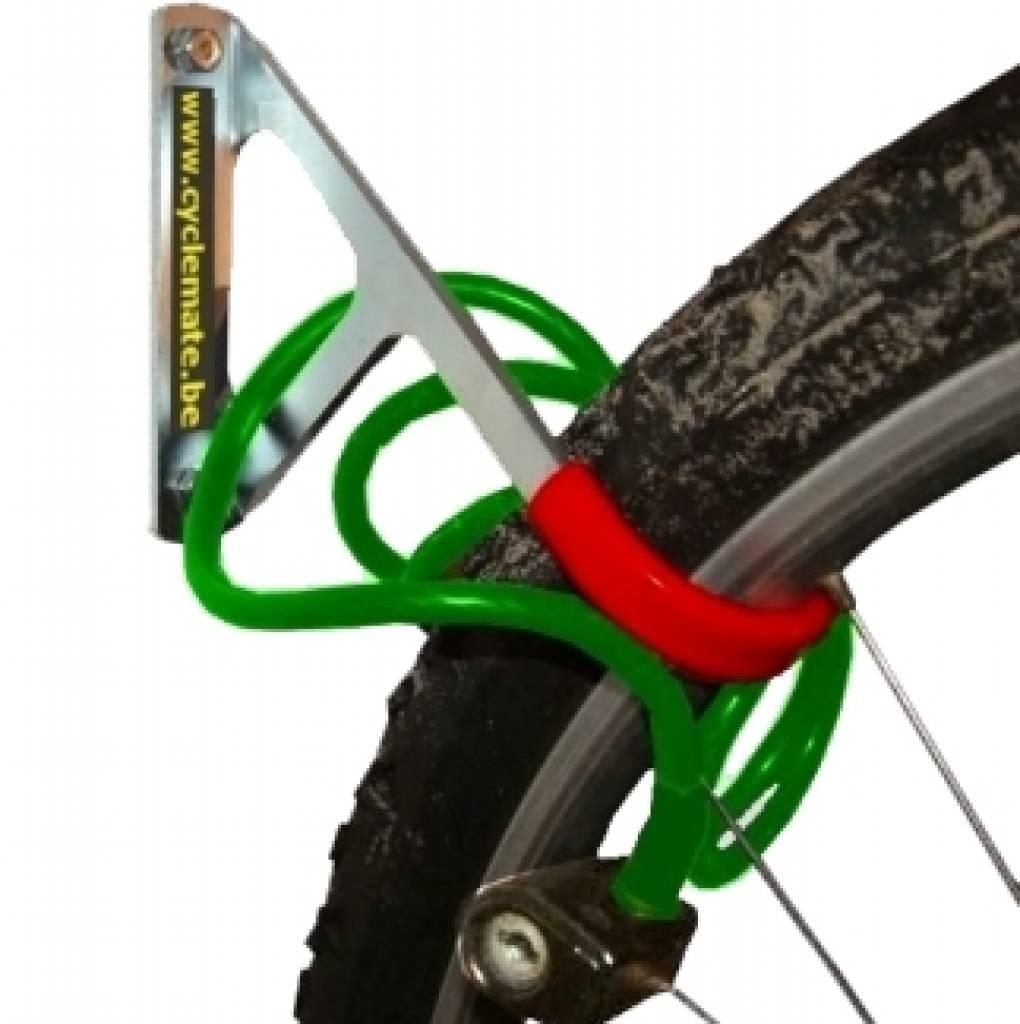 Fixation Pour Velo Garage crochet à vélo - fix-fork - cyclemate