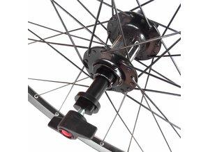 Adapteur support de roue  pour roue avant axe traversant 12-100 mm