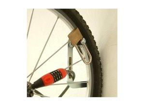 Crochet de vélo avec la possibilité de fermer avec un cadenas