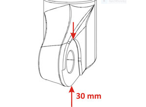 FIX-FORK inner part Thru Axle 15-110-RS1