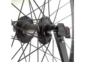 Adapteur support de roue pour roue arriere axe traversant 12-148 VTT boost