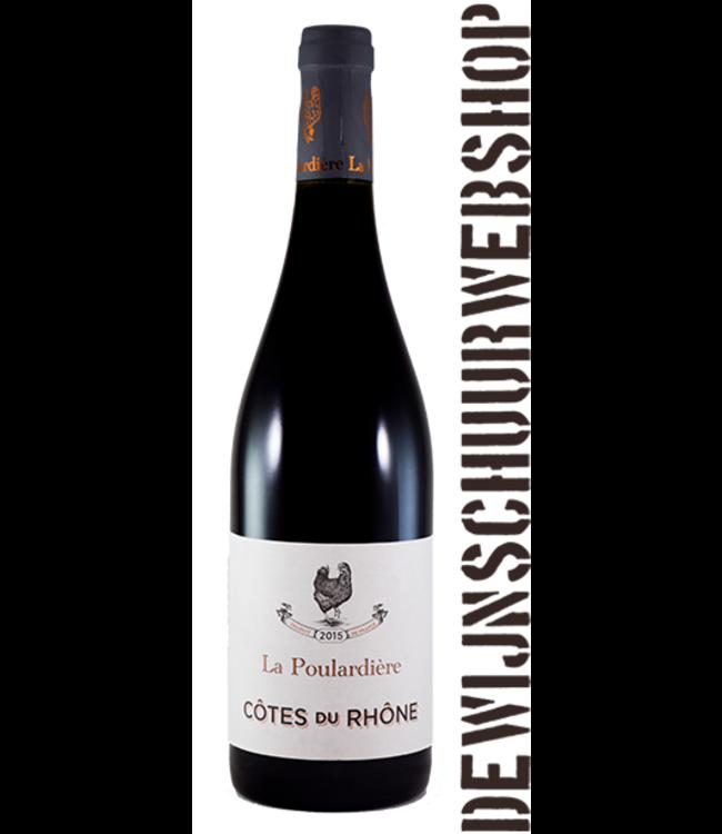 La Poulardière Côtes du Rhône Rouge