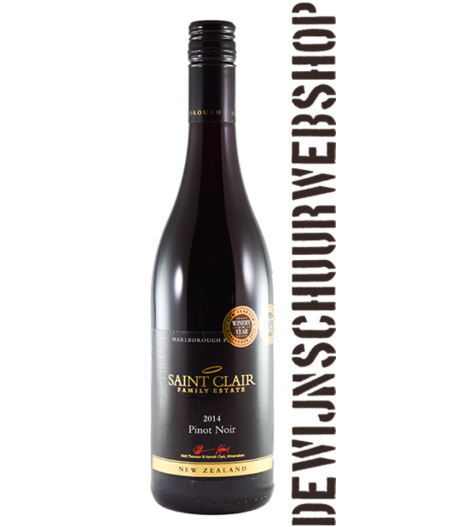 Saint Clair Malborough Premium Pinot Noir