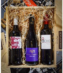 Cadeaupakket De Wijnschuur Favorieten: Licht & Fruitig Rood