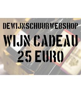 De Wijnschuur Webshop Cadeaubon 25 Euro