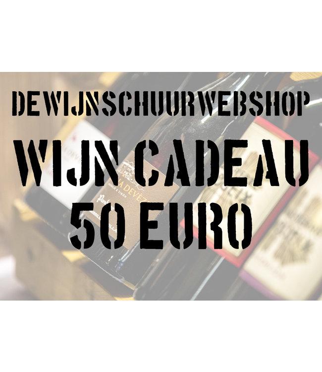 De Wijnschuur Cadeaubon 50 Euro
