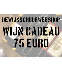 De Wijnschuur Webshop Cadeaubon 75 Euro