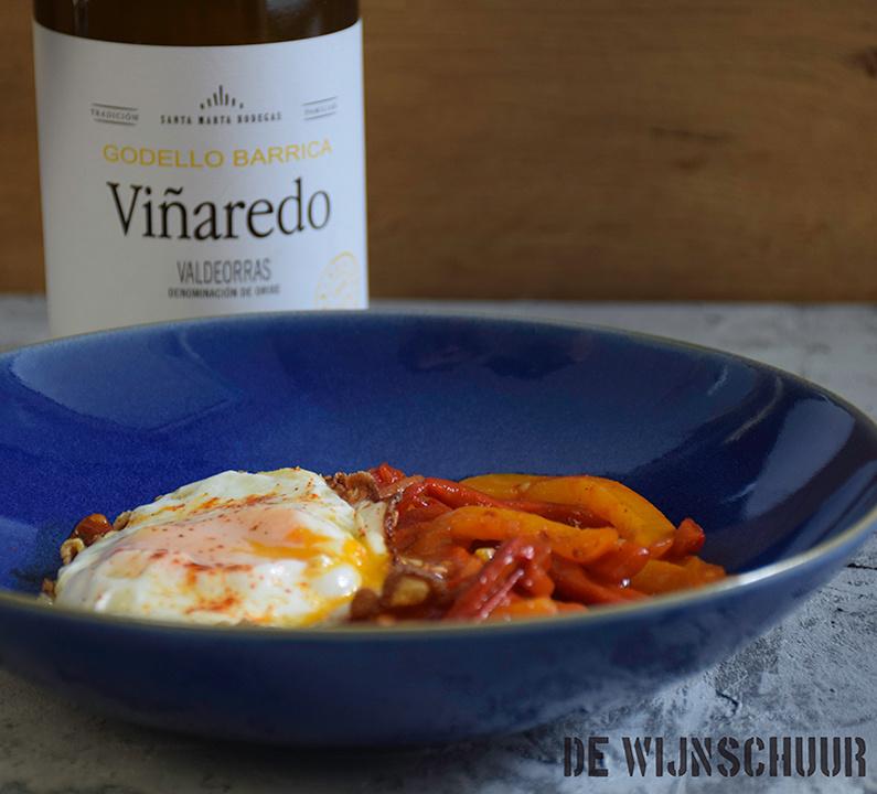 Vegetarische Spaanse Piperade