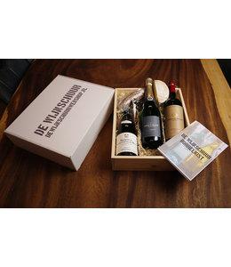 De Wijnschuur Borrelkist Super de Luxe