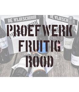 Proefwerk: Fruitig Rood
