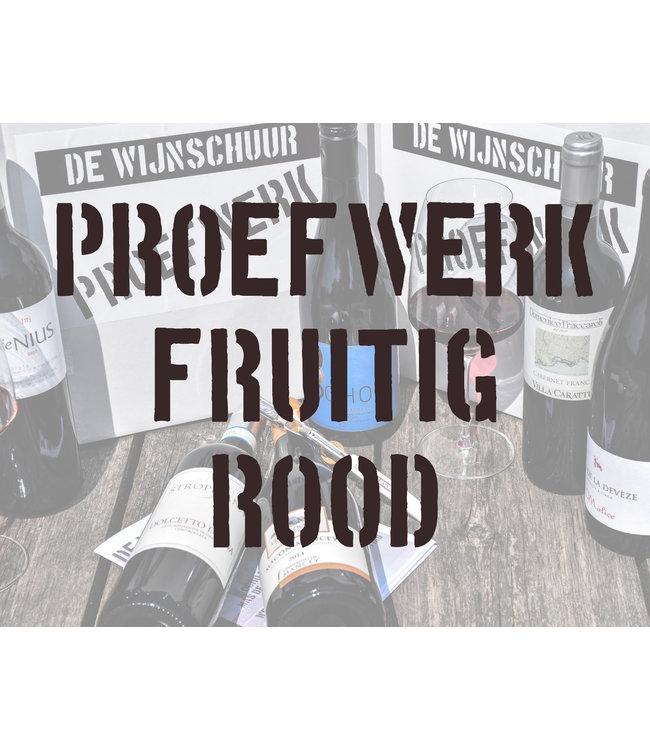 De Wijnschuur Proefpakket: Fruitig Rood