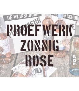 Proefwerk: Zonnig Rosé