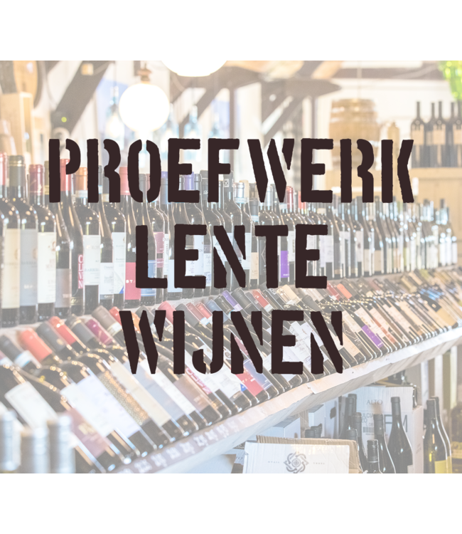 Proefwerk: Lente Wijnen