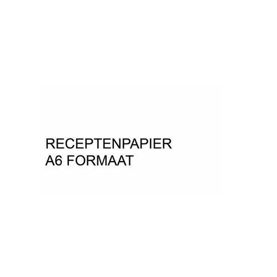 A6 Receptpapier WIT 2.000 vel