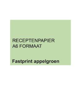 A6 Receptpapier GROEN 2.000 vel