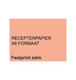 A6 Receptpapier ZALM 2.000 vel