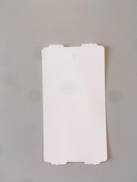 40x76mm Hangkaartje thermisch