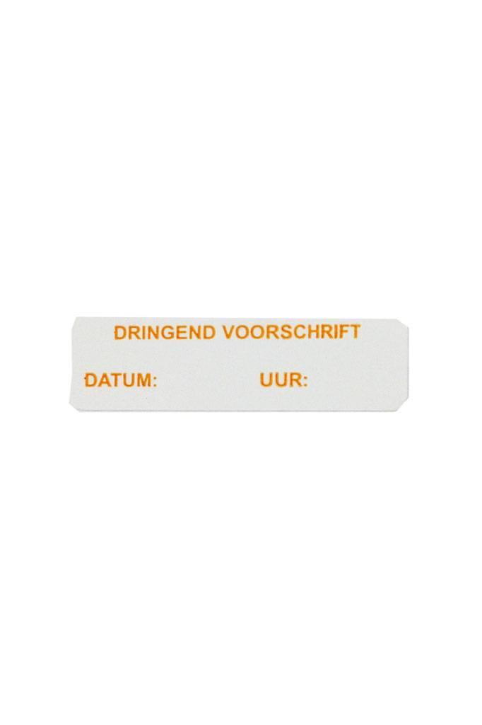 Dringend voorschrift datum / uur