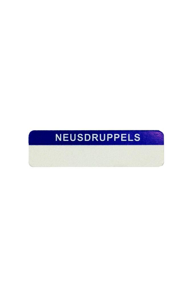 Neusdruppels