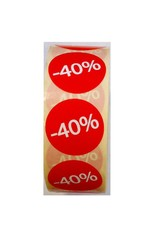Afprijsetiket Rond -40% v.a. € 3,75 p.rol