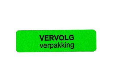 Etiketten (Strook)