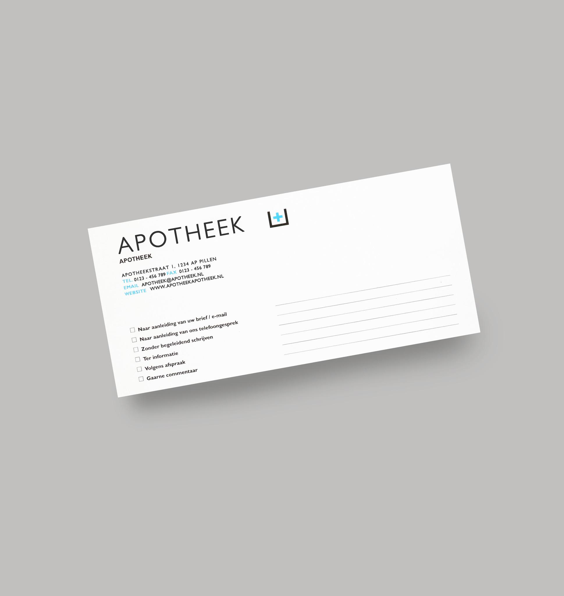 Afspraakkaarten