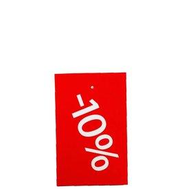 Afprijs hangkaartje -10%