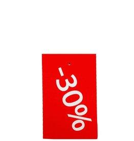 Afprijs hangkaartje -30%