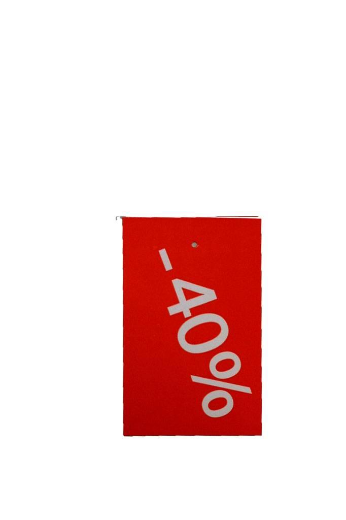 Afprijs hangkaartje -40%