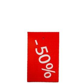 Afprijs hangkaartje -50%