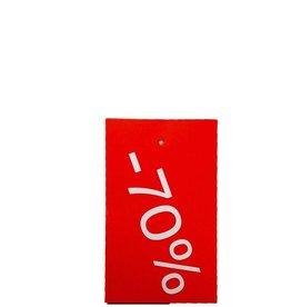 Afprijs hangkaartje -70%