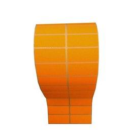 53x23mm Afneembaar 5.000 p.rol Oranje