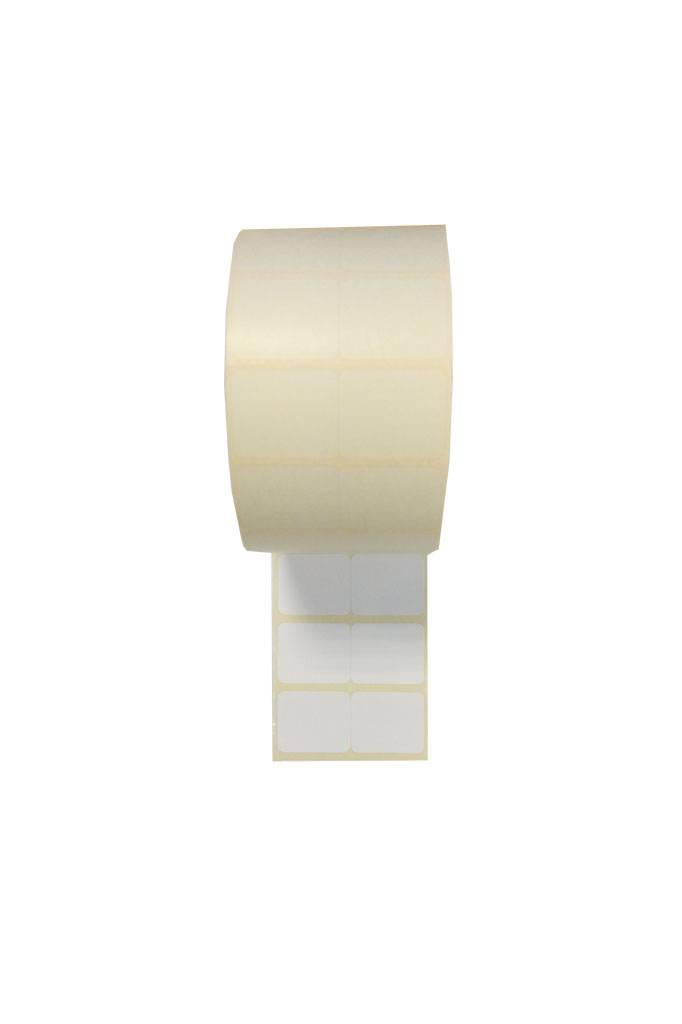 etiket 30x25mm (x2) 2.000/rol permanent, etiket 16471273 4.000 p.rol,