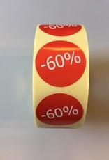 Afprijsetiket Rond -60% v.a. € 3,75 p.rol