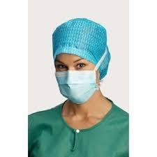 MEDISCH Chirurgisch mondmasker (50 stuks) Touwtjes sluiting