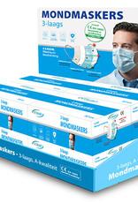 Toonbank display mondmaskers