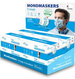 6. Toonbank display mondmaskers GRATIS