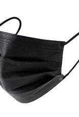 MEDISCH Chirurgisch mondmasker (50 stuks) ZWART