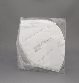 4. Mondmasker FFP2  v.a. € 0,65 p. stuk  (20 stuks)