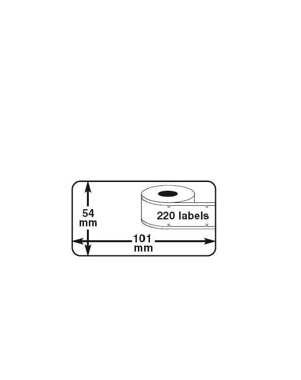 Dymo Label 101x54mm v.a. € 1,95