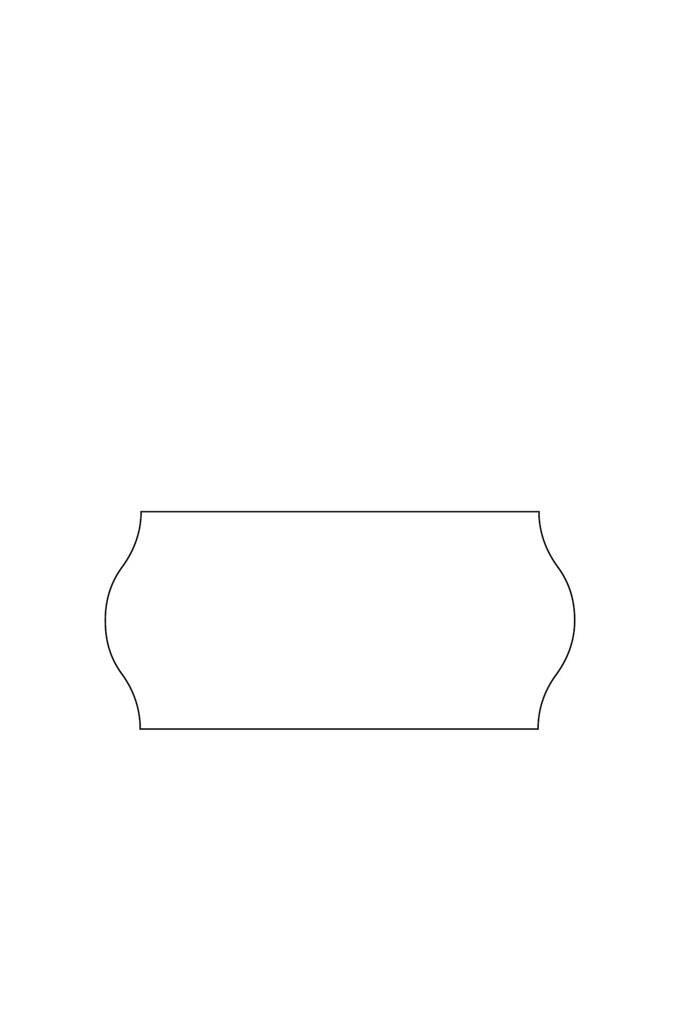 prijstangetiket 26x16 permanent 0,97 ct. prol