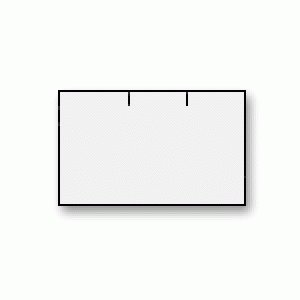 Prijstangetiket 26x16 afneembaar rechthoek