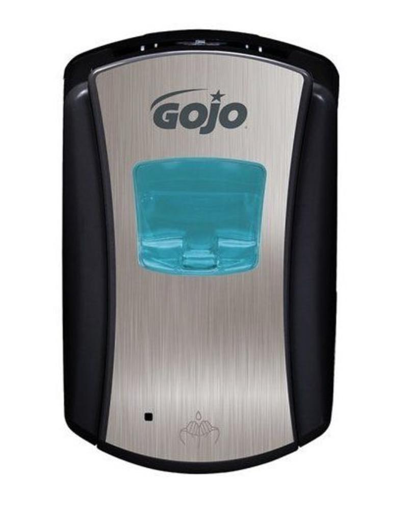 Gojo LTX Handzeep Dispenser 700ml Chroom/Zwart